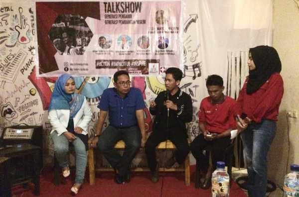 Aksi Indonesia Muda (AIM) Makassar Gelar Talkshow 'Generasi Pengabdi, Generasi Pembangun Negeri'